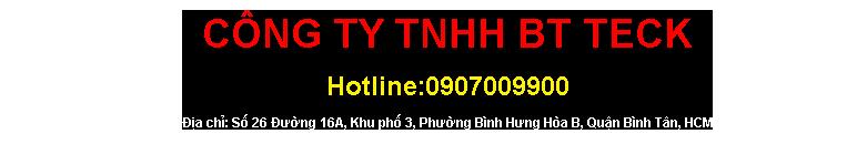 Công Ty TNHH Btteck
